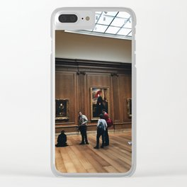 Inside of National Gallery of Art Clear iPhone Case