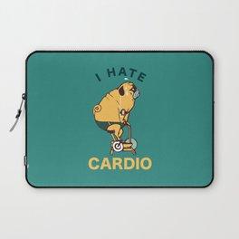 I Hate Cardio Laptop Sleeve