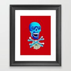 Get Rich or Die Trying Framed Art Print