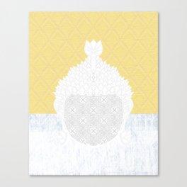 yllwpttrnbddh Canvas Print