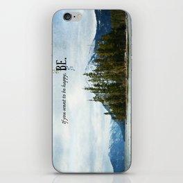 Be iPhone Skin