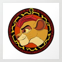 The Lion Guard Art Print