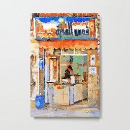 Shop in Aleppo Metal Print