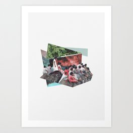 Private Screening Art Print