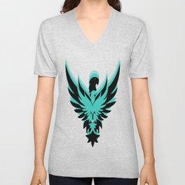 Blue eagle Unisex V-Neck