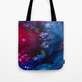 Oceans and Nebulas Tote Bag