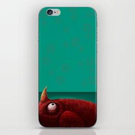 Red Creature iPhone Skin