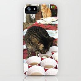 Meowzer Pong iPhone Case