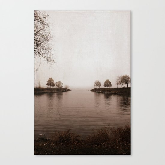 Winter's Breath is Here Canvas Print