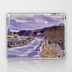 Yorks Dales Road in Winter Laptop & iPad Skin