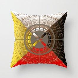 The Four Direction Throw Pillow