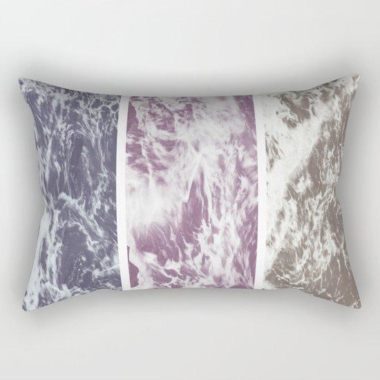Saltwater tryptych Var I Rectangular Pillow