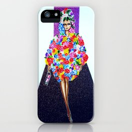 Romance On The Runway - Full Length iPhone Case