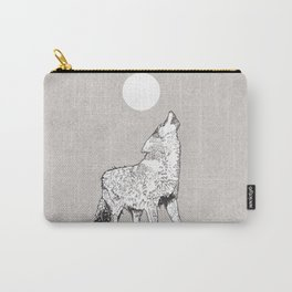 Wailing Wolf Carry-All Pouch