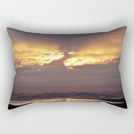 Stormy Sunset Rectangular Pillow