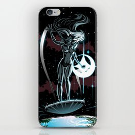 Lady Surfer iPhone Skin