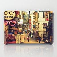 seoul iPad Cases featuring Seoul #1 by MysticJin