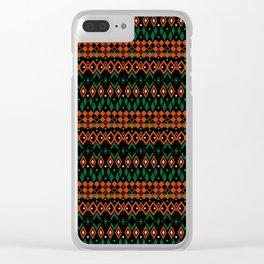 Oriental ornament 36 Clear iPhone Case