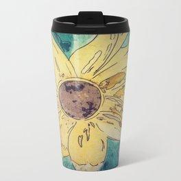 Sunflower madness Travel Mug