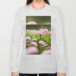 Bellis perennis pomponette called daisy Long Sleeve T-shirt