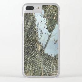 Jacksonville -  Florida - 1893 Clear iPhone Case