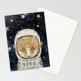 little space fox Stationery Cards