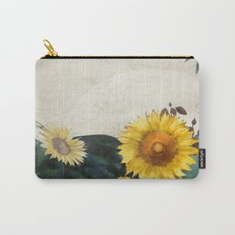 sunflowers garden country dreams Carry-All Pouch