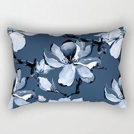 Watercolor Cherry Flowers XI Rectangular Pillow