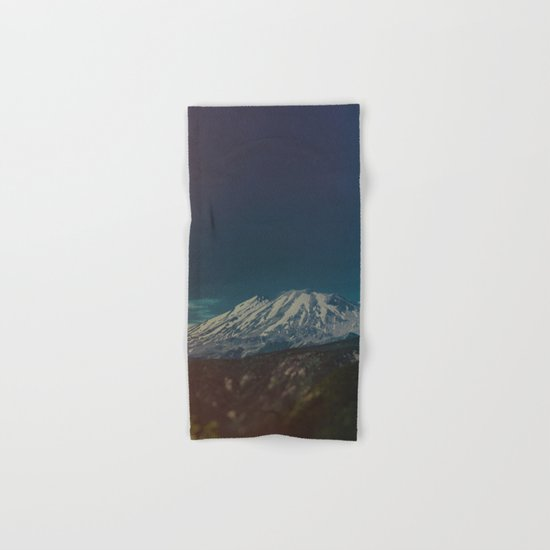 Mount Rainier Hand & Bath Towel