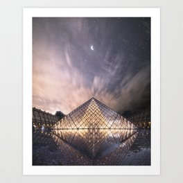 Starry Night in Paris - Limited Edition of 5 Art Print
