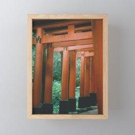 Fushimi Inari Framed Mini Art Print