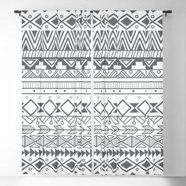 Aztec pattern 004 Blackout Curtain