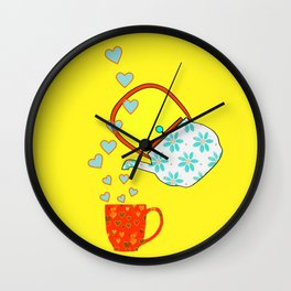 A Nice Cup Of Tea Wall Clock