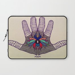 Hand Of Happiness  Laptop Sleeve