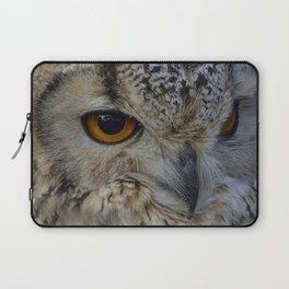 Eurasian eagle-owl, wild bird Laptop Sleeve
