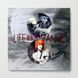 Life Is Strange: Guns Metal Print
