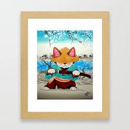 Samurai Friday Framed Art Print