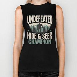 Undefeated Hide & Seek Sasquatch Yeti Biker Tank