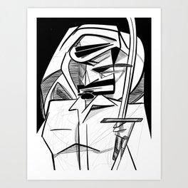 razeef in a wedding Art Print