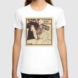 Beggarstaffs art Vintage Don Quixote Lyceum Theatre ad T-shirt