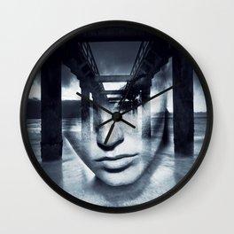 Bridge girl. Wall Clock