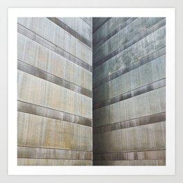 Edge nor corner Art Print