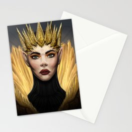 Elf Queen Stationery Cards