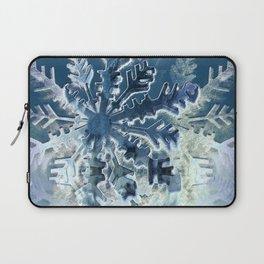 Winter Flakes Laptop Sleeve