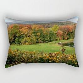 Warren Vermont Foliage Rectangular Pillow