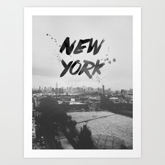 New York Baby Art Print