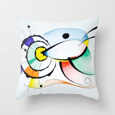Eye - Ojo Throw Pillow
