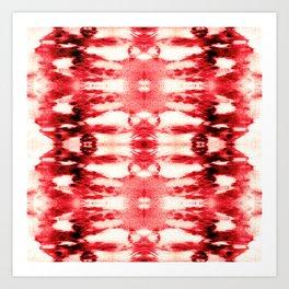 Tie-Dye Chili Art Print