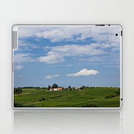 landscape in southern france Laptop & iPad Skin