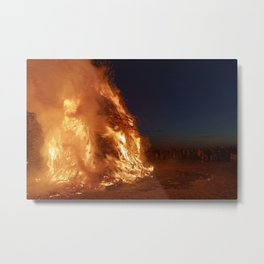 Easter fire - the winter is over (2) Metal Print